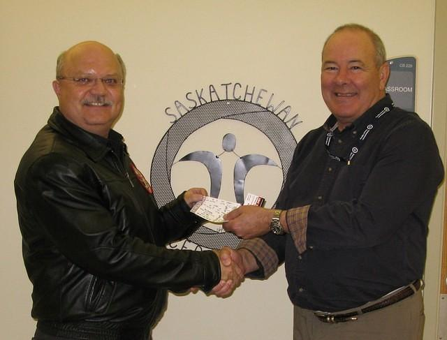 Donation to Saskatchewan Cancer Agency