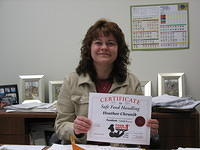 Food Safe Level 2 -certificate! (1)