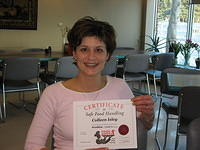 Food Safe Level 2 -certificate! (2)