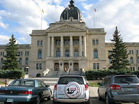 Food Safety 1st visits the Saskatchewan Legislature